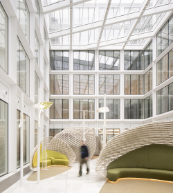 «Облачная» архитектура в центре Парижа