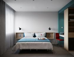 Интерьер smart-номера гостиницы «Азимут»