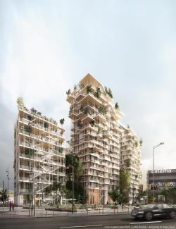 Жилой комплекс Canopia – конкурсный проект