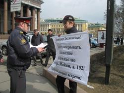 Суд приостановил строительство на месте Литовского замка