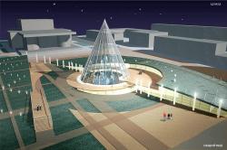 Комплексная реконструкция площади Советов, г. Сургут