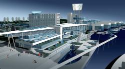 Реконструкция территории речного вокзала, г. Новосибирск