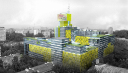 Жилой и административный комплекс на Проспекте Мира