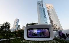 В ОАЭ впервые в мире напечатали офисное здание на 3D-принтере