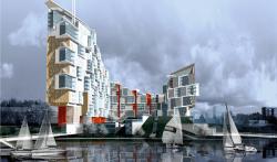Residential complex, Krasnoyarsk
