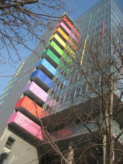 Реконструкция с надстройкой офисного здания, Зеленый пр.