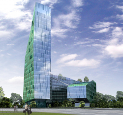 Business-centre with hotel, Krasnodar