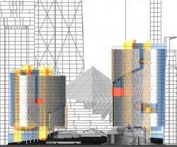 Комплекс зданий Московской Мэрии и Городской Думы, ММДЦ «Москва-Сити»