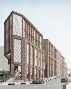 Многофункциональный комплекс на улице Земляной Вал
