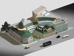 Реконструкция комплекса зданий Библиотеки-фонда «Русское Зарубежье»