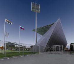 Стадион ФК «Локомотив» на 9000 мест