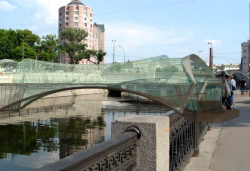 Кафе-мост, р. Яуза