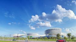 Концепция Олимпийского технопарка в Сколково