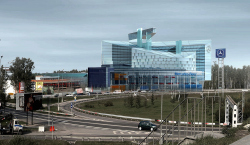 Торгово-сервисный центр «Авангард» компании «Мерседес-Бенц»
