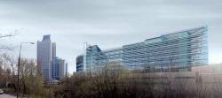 Офисно-технический центр Volkswagen, ул. Наметкина