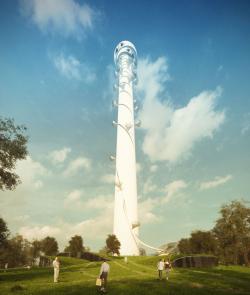 Конкурсный проект реконструкции телевизионной башни