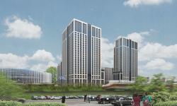 Многофункциональный комплекс с апартаментами и спортивной волейбольной ареной