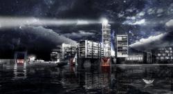 Концепция «Водоворот». Проект благоустройства Никольской набережной