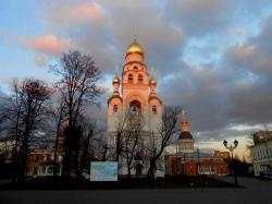 Храм-колокольня на Рогожском кладбище