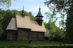 В музее «Костромская слобода» после реставрации открылась церковь Спаса