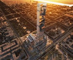 Абу-Даби Плаза – многофункциональный комплекс
