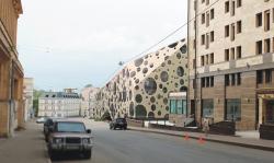Бизнес-центр в Подколокольном переулке