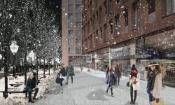 Градостроительная концепция застройки жилого микрорайона на Рублево-Успенском шоссе. Конкурсный проект