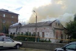 В Старом Осколе сгорел памятник архитектуры