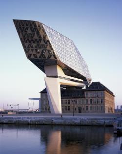 Здание администрации порта Антверпена