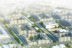 Архитектурно-градостроительная концепция территории  жилой застройки в г. Оренбург