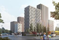 Многофункциональная жилая застройка в границах проектирования ТПУ «Лесопарковая»