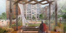 Проект благоустройства жилого комплекса «Пятницкие кварталы» (двор-ковер)
