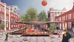 Концепция развития общественных пространств территории завода «Кристалл»