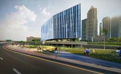 Проект фасадов гостиницы «Crystal Jumerian Hotel» в г. Дубай
