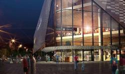 Кинотеатр «София» будет перестроен в 4-этажный районный центр по проекту бюро «СКиП»
