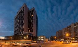 Гостиничный комплекс «Park Inn» в Новосибирске