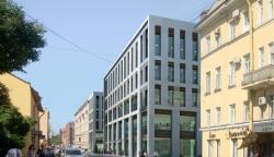 Реконструкция здания под офисный центр