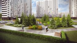 Проект благоустройства ЖК «Ривер парк»
