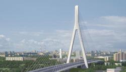 Вантовый мост через Москву-реку