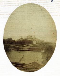 Старейшие снимки архитектурных памятников Твери