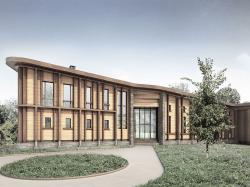 Частный жилой дом в поселке Малеевка