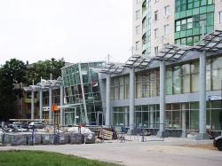 Реконструкция стилобатной части жилого дома на проспекте Маршала Жукова