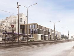 Офисно-торговый комплекс на проспекте Вернадского