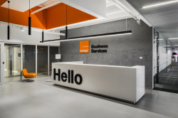 Офис Orange Business Services в башне «Меркурий»