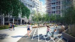 «Знаковый сад» – зеленая зона жилого комплекса Signature