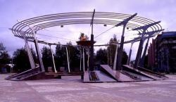 Площадь спортивной славы в Ханты-Мансийске
