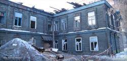 В Омске остановили снос дома 1914 года постройки