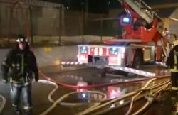 Пожар в особняке XVIII века в центре Москвы засняли беспилотники