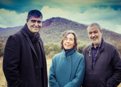 Рафаэль Аранда, Карме Пижем и Рамон Вилальта © Javier Lorenzo Domínguez