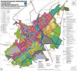 Администрация Орла предложила провести публичные слушания по новому генплану города в мае-июне 2017 года